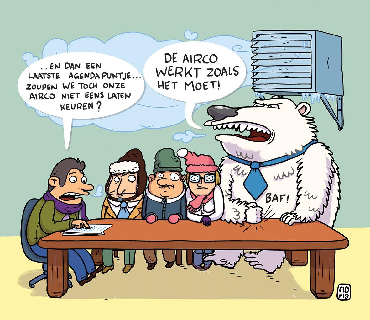 keuring van airconditioning